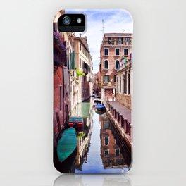 Get Lost In Venice iPhone Case