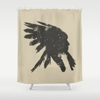 indian Shower Curtains featuring Indian by ammooina
