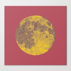 Chinese Mid-Autumn Festival Moon Cake Print Canvas Print