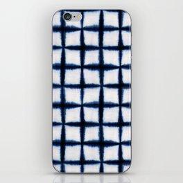 Shibori Squares iPhone Skin