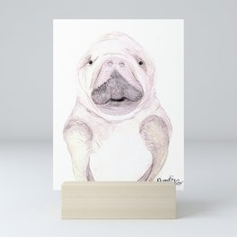 Manatee Mini Art Print