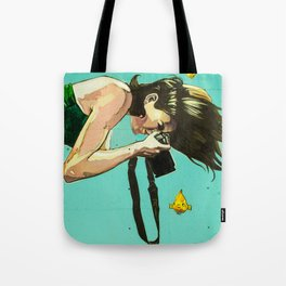 Lady in the Water Tote Bag