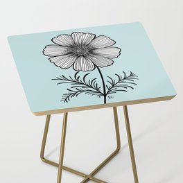 Cosmo Flower Side Table