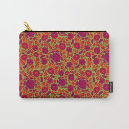 ITTHON - Green Flora Carry-All Pouch