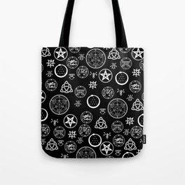 Occult Noir Tote Bag