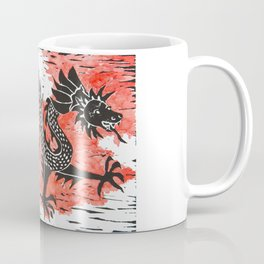 Dancing Chinese dragon Coffee Mug