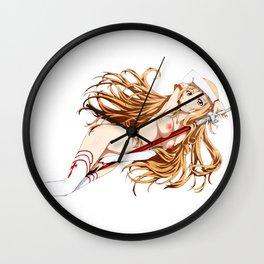 Asuna Hentai Waifu 10 Wall Clock