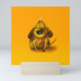 Gold King Mini Art Print