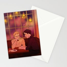 I'm glad you're alive, you idiot. Stationery Cards