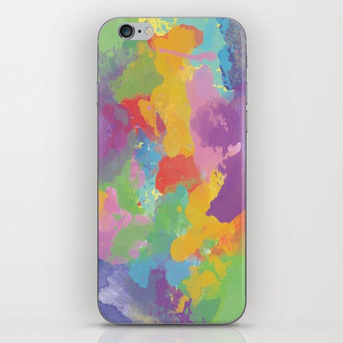 Watercolor Splatter iPhone Skin