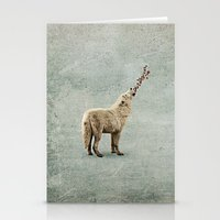 howl Stationery Cards featuring howl by Seamless