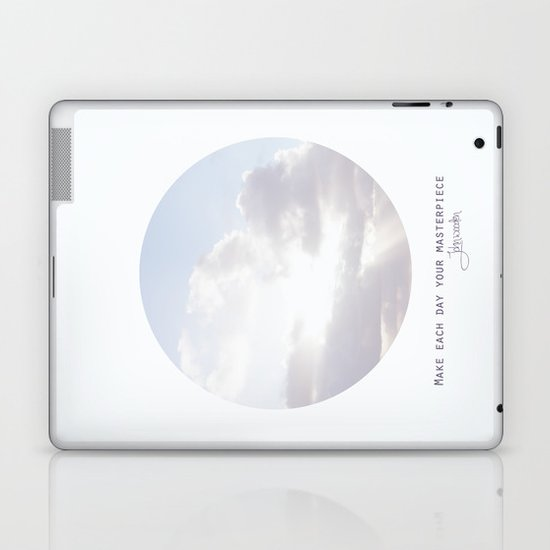 Make Each Day Your Masterpiece I Laptop & iPad Skin