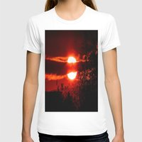 sunrise T-shirts featuring Sunrise by American Artist Bobby B