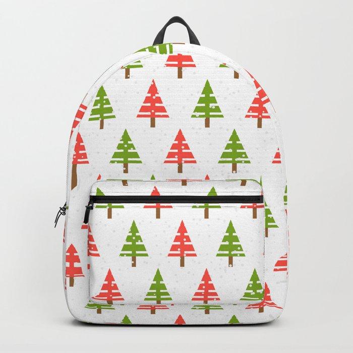 Christmas tree. Backpack