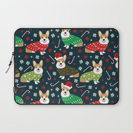 Corgi christmas sweater ugly sweater party with welsh corgis dog lovers dream christmas Laptop Sleeve