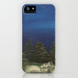 Starry Night - Pure Nature iPhone Case