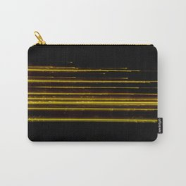 Abstract Orange Light Effect Carry-All Pouch