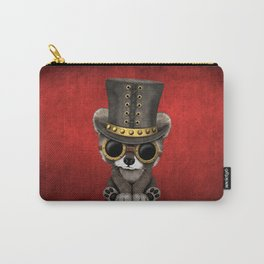 Steampunk Baby Raccoon Carry-All Pouch