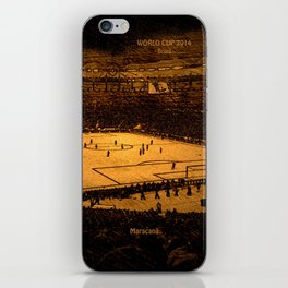 World Cup 2014: Maracanã iPhone Skin