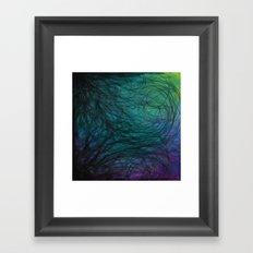 Following Rivers  Framed Art Print