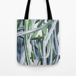 Green Crush Cactus I Tote Bag