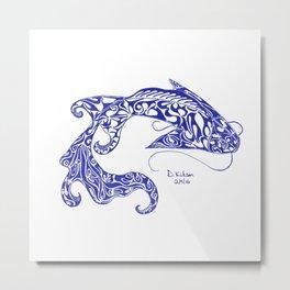Koi Carp Metal Print