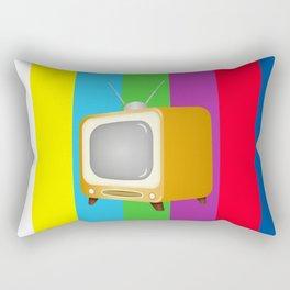 The Old TV Rectangular Pillow