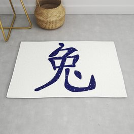 Chinese Year of the Rabbit Rug