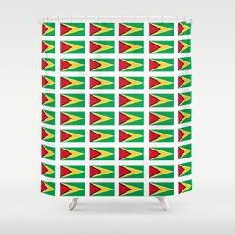 Flag of Guyana -Guyanese,Guyanes,Georgetown,Linden,Waiwai Shower Curtain