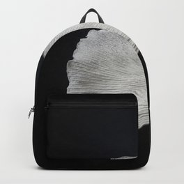 Ginkgo on black Backpack