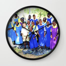 Kenya / Kitui Orphans Wall Clock
