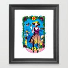 Cupid Framed Art Print