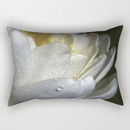 Water Lily Simplicity Rectangular Pillow