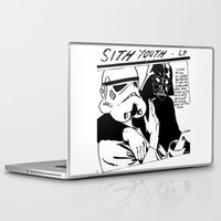 sith Laptop & iPad Skins featuring Sith Youth by Don Calamari
