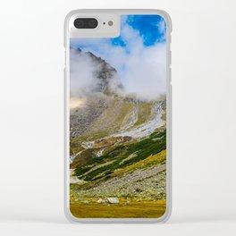 Pitztal, Austria Clear iPhone Case