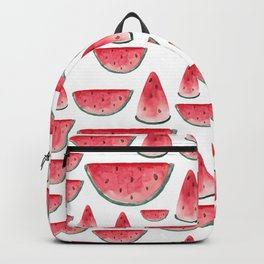Watermelon is always a good idea. White edition. Backpack