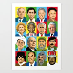 select your politic Art Print