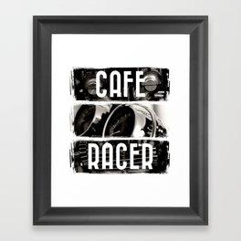 Cafe Racer Framed Art Print