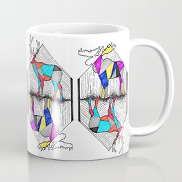 A wounded deer leaps the highest Coffee Mug