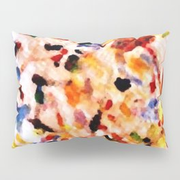 Left Overs In Abstract Pillow Sham