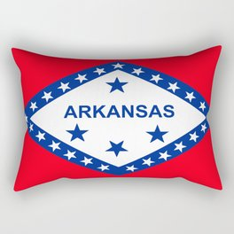 Flag of Arkansas Rectangular Pillow