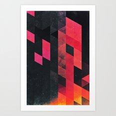 ylmyst tyme Art Print