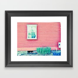 Past Perspective Framed Art Print
