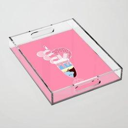 Sugar Sunrise Acrylic Tray