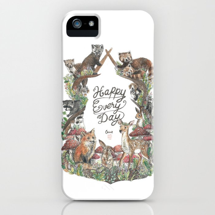 Happy Every Day! iPhone Case