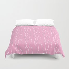 butt booty bum Duvet Cover