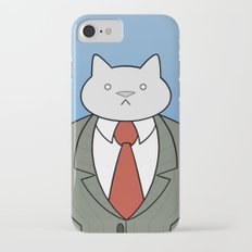 Business Cat Slim Case iPhone 7