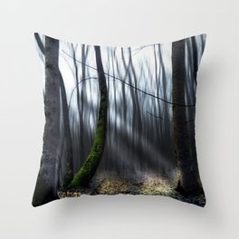 Searching the light Throw Pillow