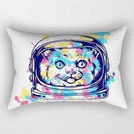Space Kitty - Catstraunaut Rectangular Pillow