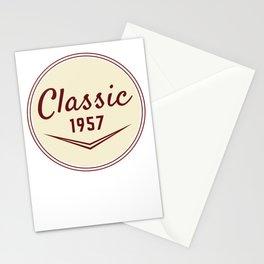 1957 Birthday Gift Vintage Classic 61st Birthday Present Stationery Cards